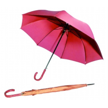 Auto Open Pure Color Straight Umbrella (BD-19)